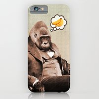 iPhone & iPod Case featuring Gorilla My Dreams by Peter Gross