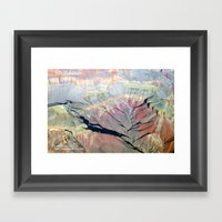 Unseen By Most Framed Art Print