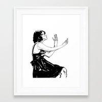 Perceive Framed Art Print