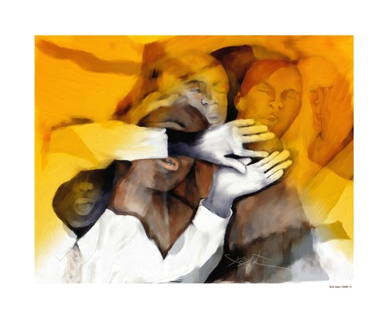 Soul Brothers / singing group Art Print