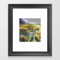 Approaching Rain - Achil… Framed Art Print
