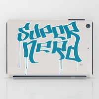 Super Nerd iPad Case