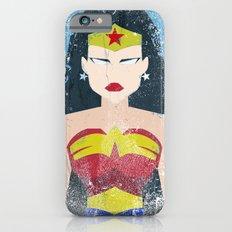 Wonder Grunge Woman iPhone 6s Slim Case