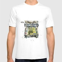 Vintage Cash Mens Fitted Tee White SMALL
