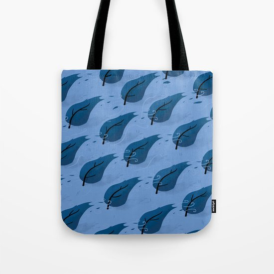 Stormy Forest Tote Bag