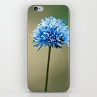 Blue Cotton iPhone & iPod Skin