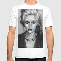 + SEA OF SORROW + Mens Fitted Tee White SMALL
