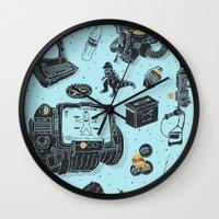 Artifacts: Fallout Wall Clock