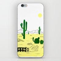 Man & Nature - The Deser… iPhone & iPod Skin