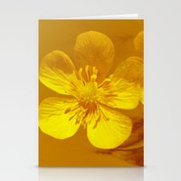 FLOWERS - Bonnie Buttercups Stationery Cards