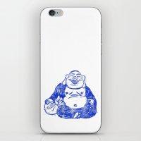 CMYK BUDDHA iPhone & iPod Skin
