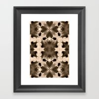 Kaleido Ink Framed Art Print