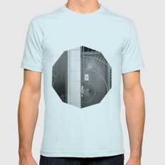 First Impression Mens Fitted Tee Light Blue SMALL