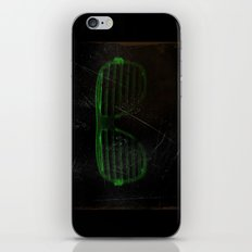 Electro Glasses iPhone & iPod Skin