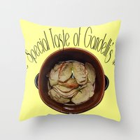 The Special Taste Of Gan… Throw Pillow