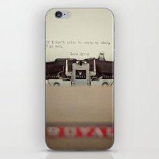 If. iPhone & iPod Skin