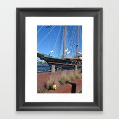 Pirate Gnome Framed Art Print