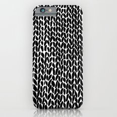 Hand Knitted Black S Slim Case iPhone 6s
