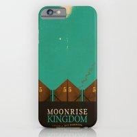 moonrise kingdom iPhone & iPod Cases featuring MOONRISE KINGDOM by VAGABOND