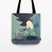 Giving Gifts At Christma… Tote Bag
