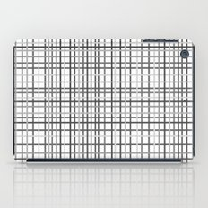 Weave Black and White iPad Case
