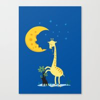 The Delicious Moon Chees… Canvas Print