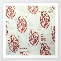 How My Heart Beats, Volume 1. Art Print