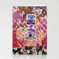 Lil Blogger Girl Stationery Cards