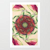 Atomic Nebula Art Print