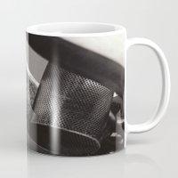 Droplets on Metal Mug