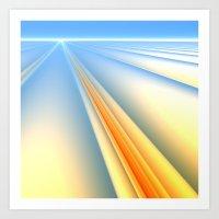 The Blinding Light of Day Art Print