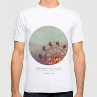 Starlight, Starbright  Mens Fitted Tee Ash Grey SMALL