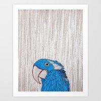 Prettybird Art Print