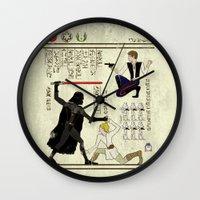 Hero-glyphics: The Force Wall Clock
