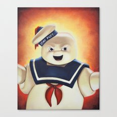 Stay Puft Marshmallow Ma… Canvas Print