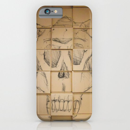 Space in Boxes iPhone & iPod Case