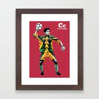 C is for Campos Framed Art Print