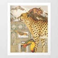The Retreat Art Print