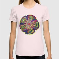 Peyote Womens Fitted Tee Light Pink SMALL