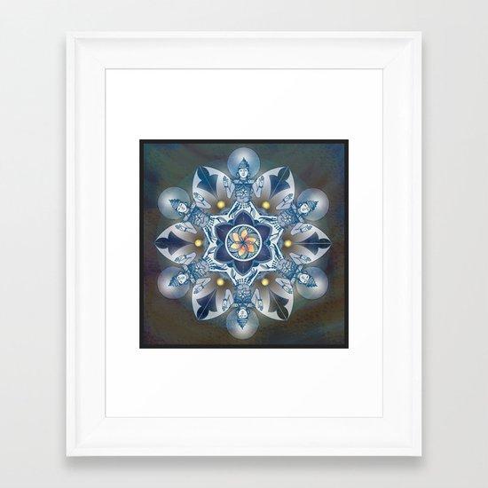 Reiki Framed Art Print