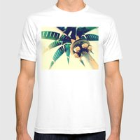 Nuevo Mens Fitted Tee White SMALL