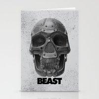 RoboSkull Stationery Cards