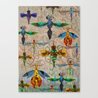 Free As A Bug. Canvas Print