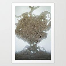Pearlescent Art Print