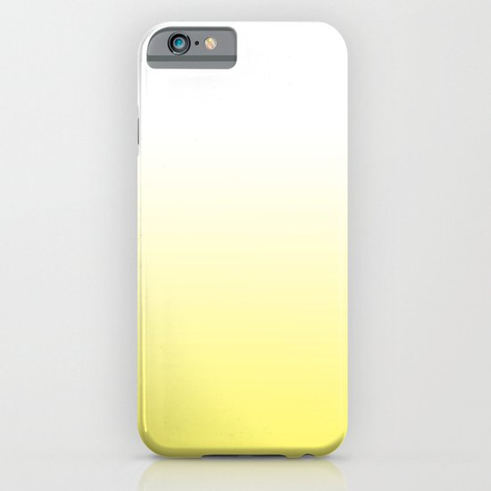 yellow and white ombre iPhone & iPod Case