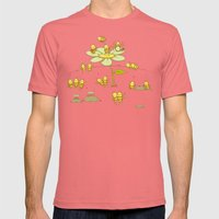 A Beeg Reunion Mens Fitted Tee Pomegranate SMALL