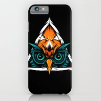 iPhone & iPod Case featuring I Don't Give A Hoot by dominantdinosaur