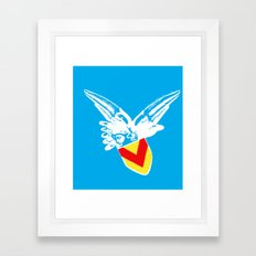 Zooport Cherub Framed Art Print