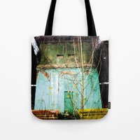 Nature finds the way inside... and outside... Tote Bag