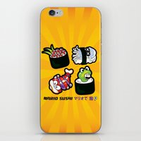 Super Mario Sushi iPhone & iPod Skin